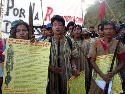 Une organisation indigène refuse la présence de Perenco sur les terres indiennes